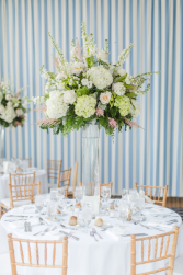 Blushy Chic Tall Centerpiece