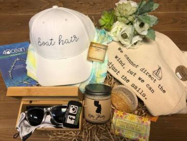 Boat Babe Gift Basket