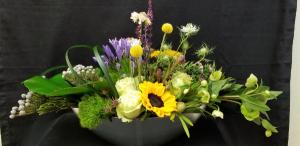 Boat Load of Flowers Modern Arrangement in Tampa, FL | APPLE BLOSSOMS FLORAL DESIGN