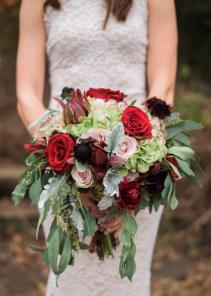 Boho Bocca Bridal Bouquet