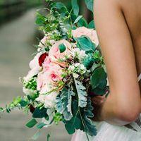 Boho Bouquet Wedding Bouquet, Hand tied
