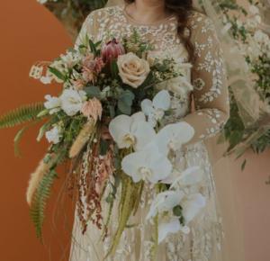 Boho Chic Bridal Bouquet Bridal Bouquet in Morehead City, NC   Sandy's Flower Shoppe