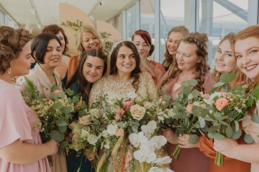 Boho Chic Bridesmaid Bouquets Wedding