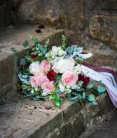 Boho garden bouquet  Wedding bouquet