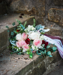 Boho garden bouquet  Wedding bouquet