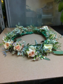 Boho Hair wreath Hairpieces & Handheld Bouquets