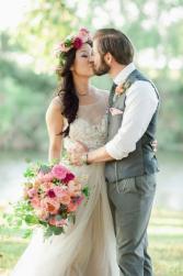 Boho Peony Bridal Bouquet