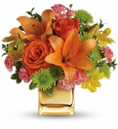 Bold and Beautiful Vase Arrangement