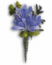 Bold and Beautiful Prom Boutonniere