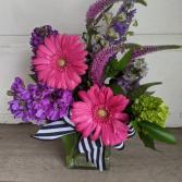 Bold and beautiful Fresh arrangement