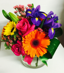 Bold Beauty Bouquet Vased Arrangement