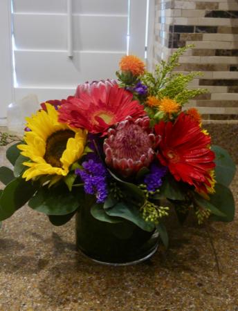 Bold Blooms Floral Arrangement