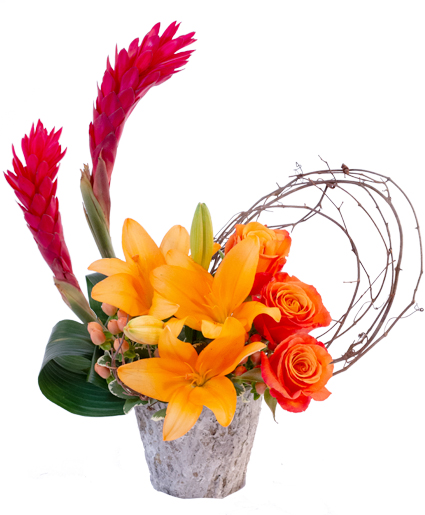 Bold Blooms Flower Arrangement