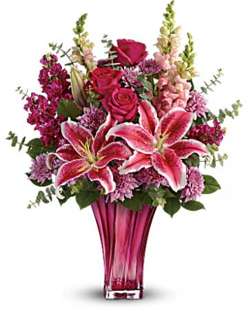 Bold Elegance Bouquet Fresh Floral Arrangement