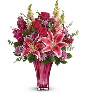 Bold Elegance Vase arrangement in Jasper, TX   ALWAYS REMEMBERED FLOWERS & GIFTS