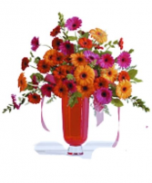Bold Gerbera Daisy  Premium  Arrangement