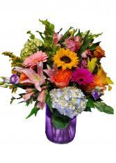 Bold n Beautiful Vase Arrangement
