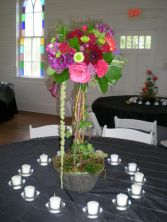 Bold Topiary Centerpiece