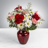 Boldly bashful Vase