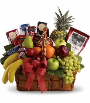 Bon Vivant Gourmet Basket  in Valley City, OH | HILL HAVEN FLORIST & GREENHOUSE