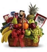 Bon Vivant Gourmet Basket          T107-1 Fruit and Gourmet