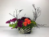 Bony Hands  Container Arrangement