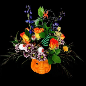 Boo! Fall Halloween Design in Plainview, TX | Kan Del's Floral, Candles & Gifts