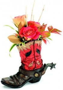 Boot of Flowers Gift Item