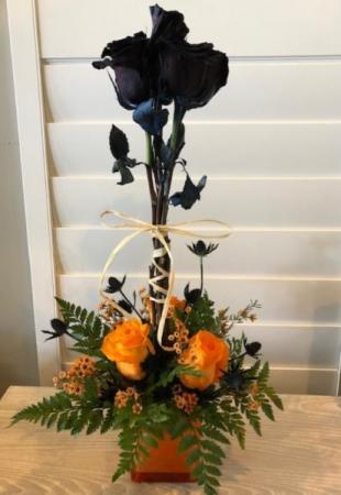 Bootiful Halloween Flowers