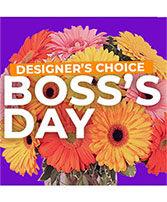Boss's Day Design Custom Flowers