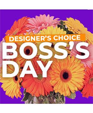 Boss's Day Design Custom Flowers in Orlando, FL | Progress Flowers