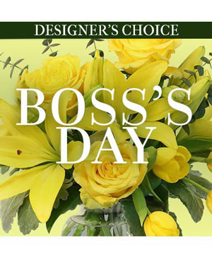 Boss's Day Florals Custom Arrangement in Plainview, TX | Kan Del's Floral, Candles & Gifts