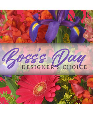 Boss's Day Flowers Designer's Choice in Richmond Hill, ON | FLOWERS BY SYLVIA