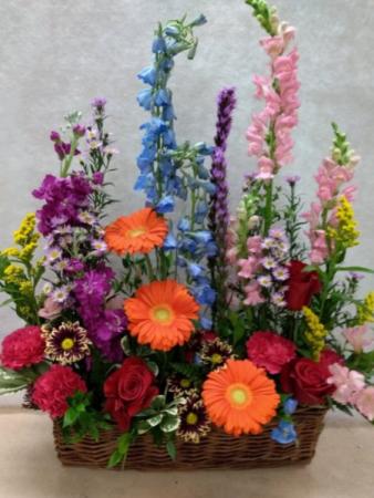 Botanical garden Basket