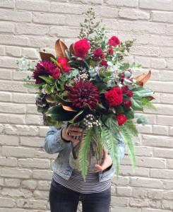 Botany Boho Autumn Vase Arrangement