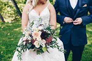 Bounding Beauty Bridal Bouquet in La Grande, OR | FITZGERALD FLOWERS