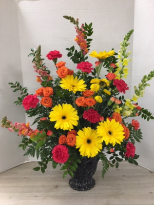S100 - Bountiful Blessing Fresh Arrangement in Cherokee, IA | Blooming House