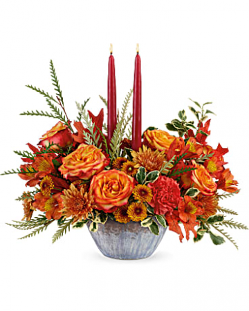 Bountiful Blessings Centerpiece Fall Arrangement