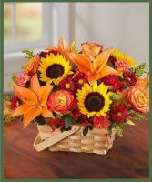 Bountiful Blooms Basket