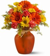 Bountiful Blooms Fall Arrangement