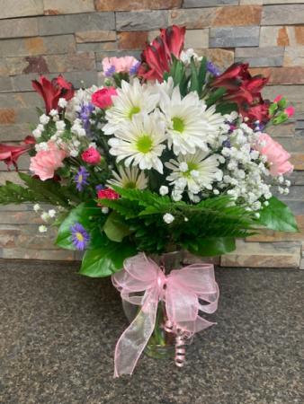 Bountiful Blooms Vase Arrangement