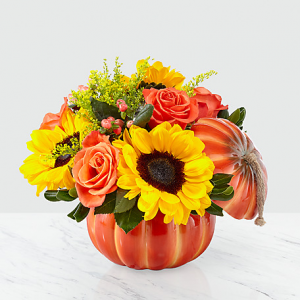 Harvest Traditions Pumpkin Bouquet  in New Wilmington, PA | FLOWERS ON VINE