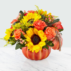BOUNTIFUL BOUQUET FALL FLOWERS in Las Vegas, NV | Blooming Memory