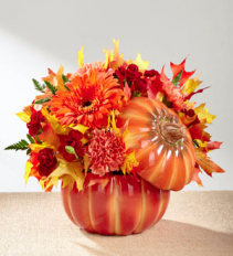 Bountiful Bouquet Fall Arrangement