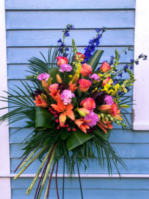 Bountiful Bouquet Funeral in Bay Saint Louis, MS | The French Potager