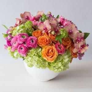 Bountiful Bowl of Spring   in Oakville, ON | ANN'S FLOWER BOUTIQUE-Wedding & Event Florist