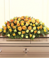 Bountiful Casket Spray