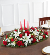 Bountiful Christmas Centerpiece Centerpiece