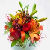 Bountiful Country Vase Arrangement