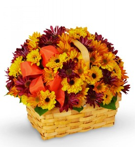 Bountiful Fall Basket in Lexington, NC | RAE'S NORTH POINT FLORIST INC.